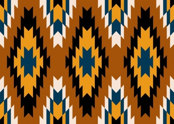 Fully Editable Tribal Pattern