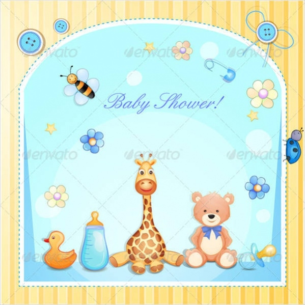 Funny Baby Shower Card