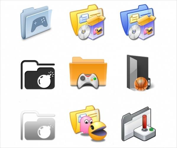 Game Folder icons For Free