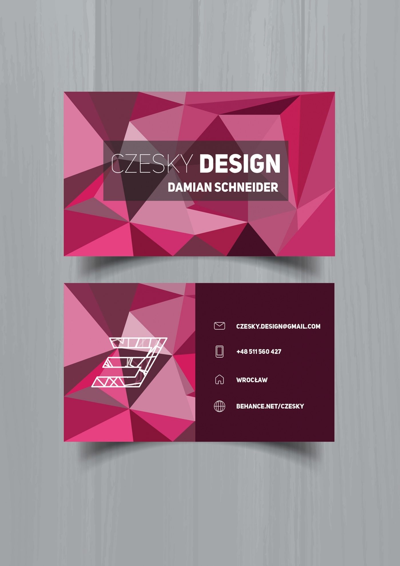 Geometric style Business Card