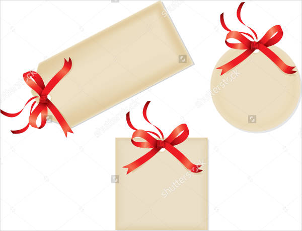 Gift Tags With Ribbons
