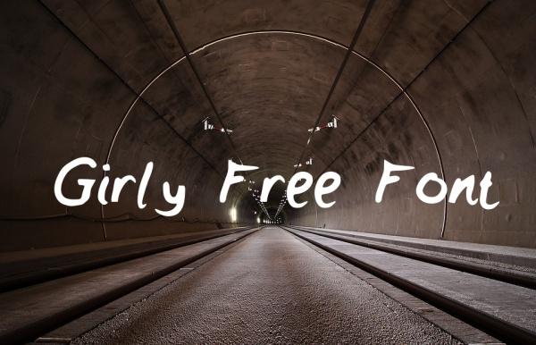 Girly Free Font