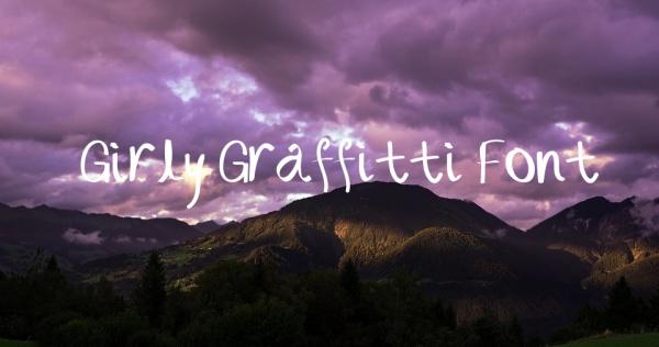Girly Graffiatti Font
