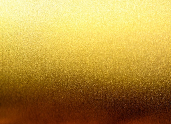 Gold Brushed Metal Texture
