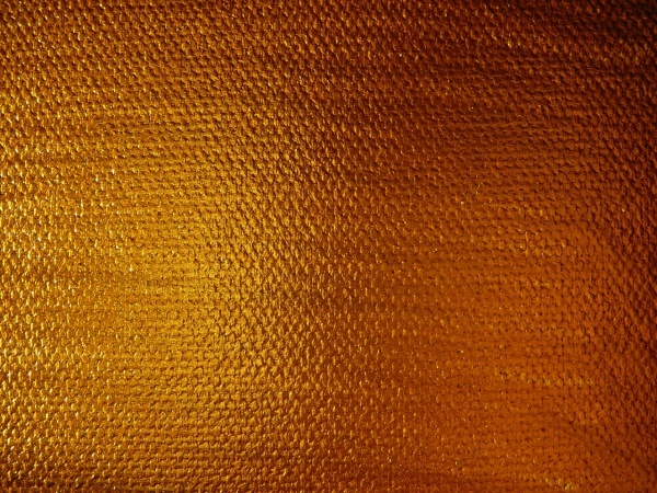 Gold Paint on Canvas Texture