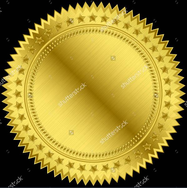 Golden Blank Label