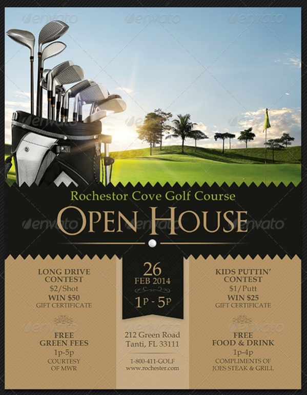 18 Open House Flyers PSD Vector EPS Download – Open House Flyers