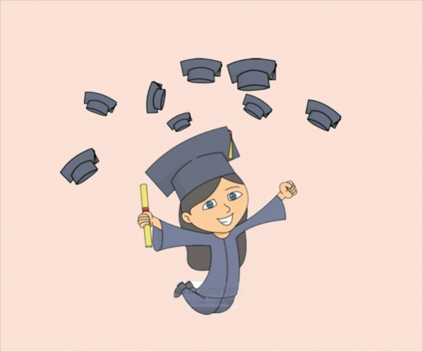 graduation animated clip art