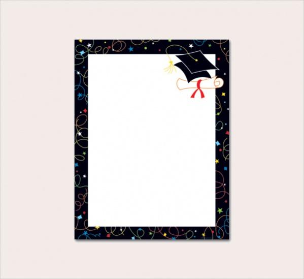 Graduation Borders Clip Art