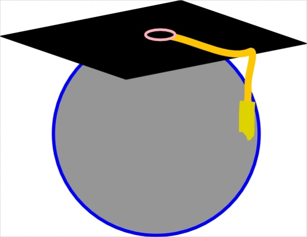 graduation icon cliparts