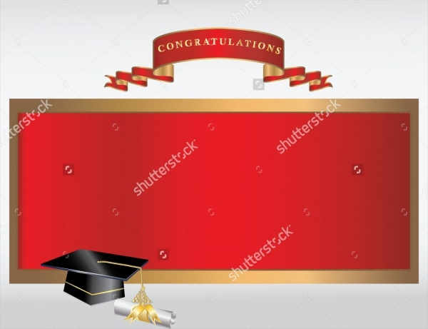 Graduation Invitation BannerDesign
