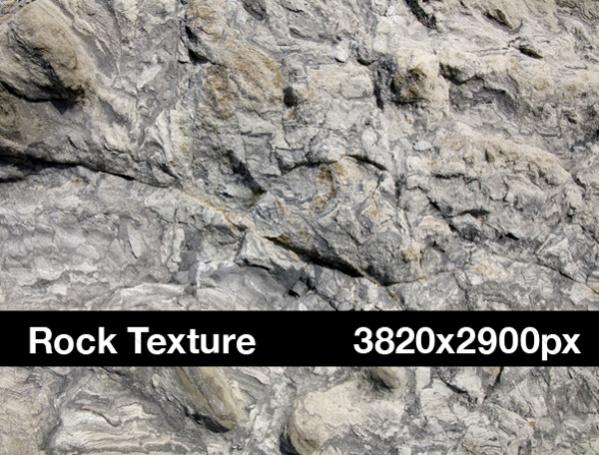 Grey Rock Graphic Texture