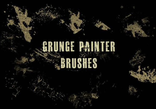 Grunge Paint Brush