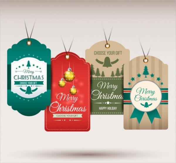Hanging Christmas Tags
