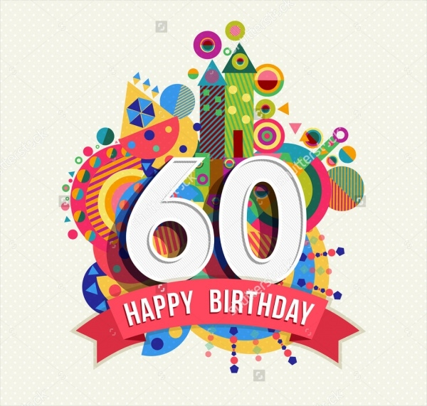 Happy 60th Birthday Greetings