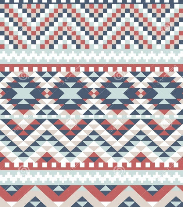high quality aztec pattern