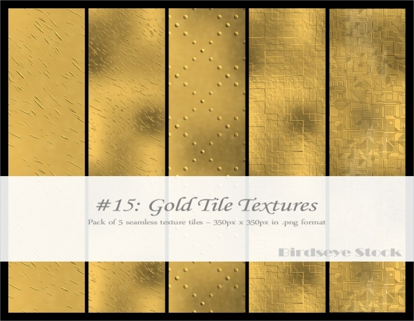 High Quality Golden Tileable Texture