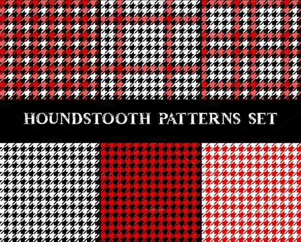 High Quality Houndstooth Pattern