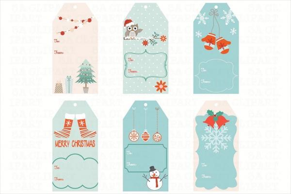 High Resolotion Christmas Tags