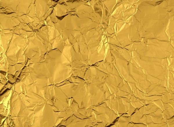 High Resolution Gold Foil Texture