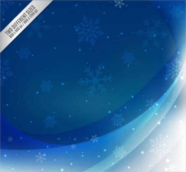 High Resolution Snowflake Background