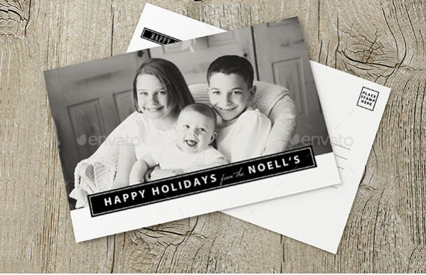 Holiday Greeting Postcard