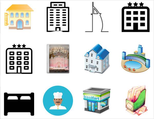 Hotel Facilities Icons