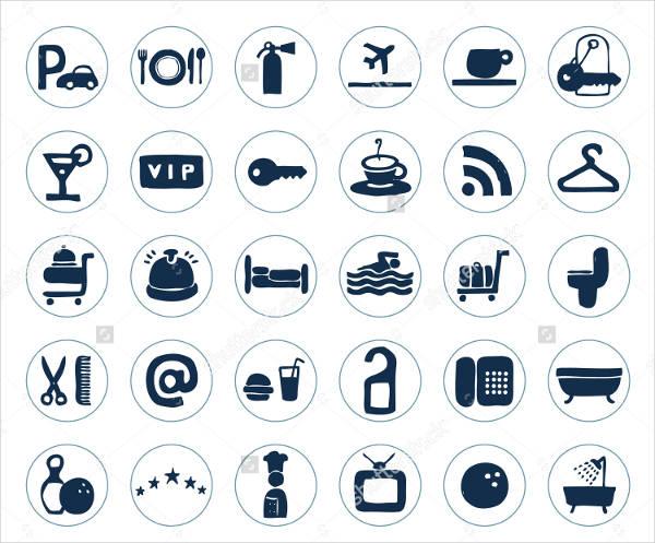 Hotel Web Icons