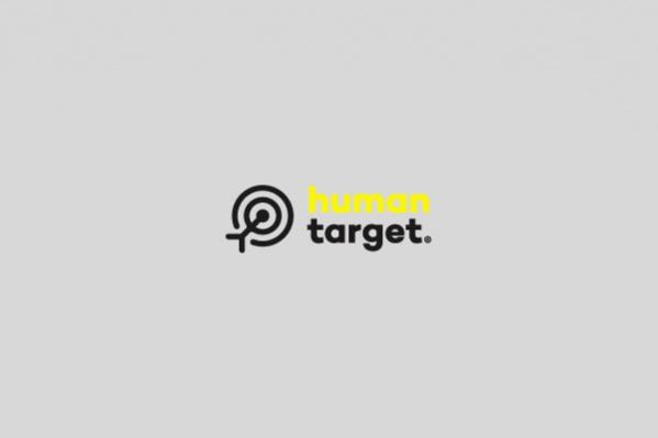 Human Target Logo Design