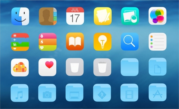 IOS Folder icons FOr Free