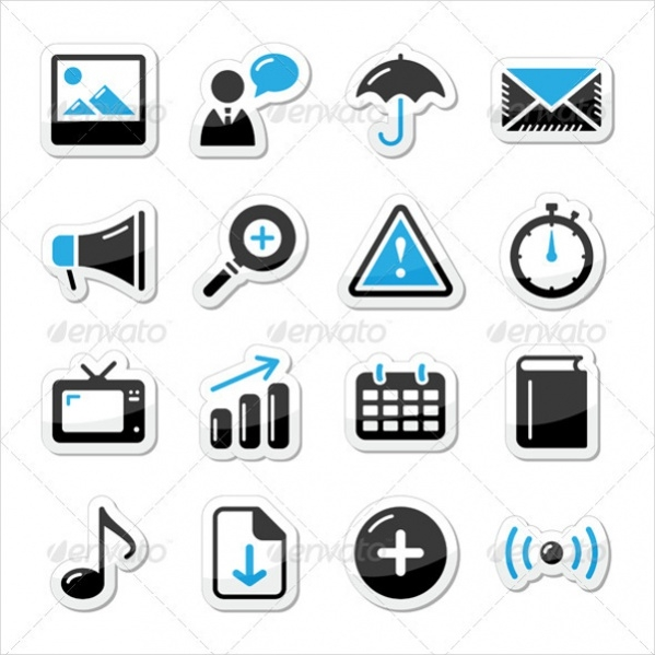 Internet Website Icons