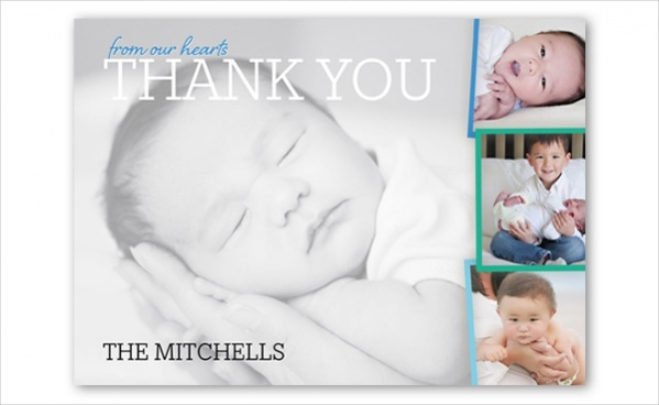 Baby thank you cards are designed with lots of creativity and innocence. With the help of these cards, babies thank others with their innocence and loving nature in order to thank their friends or family.