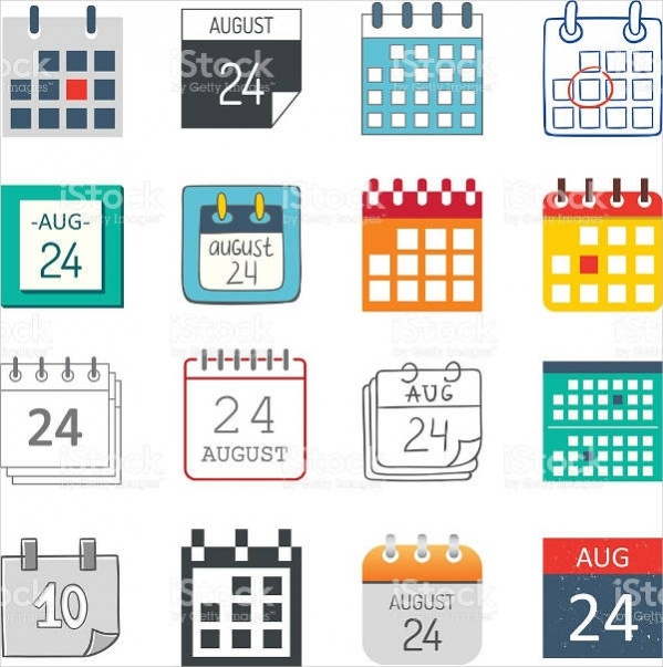 Isolated Calendar Icon