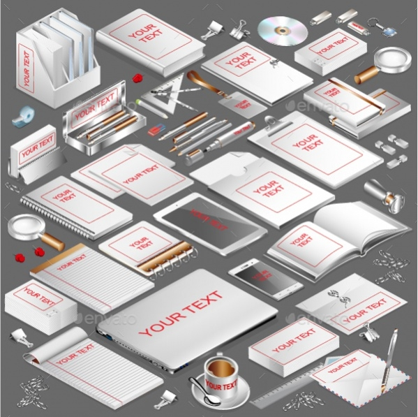 Isometric Corporate Stationery
