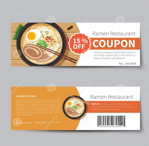 Japanese Food Coupon
