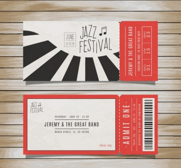 Jazz Festival Ticket