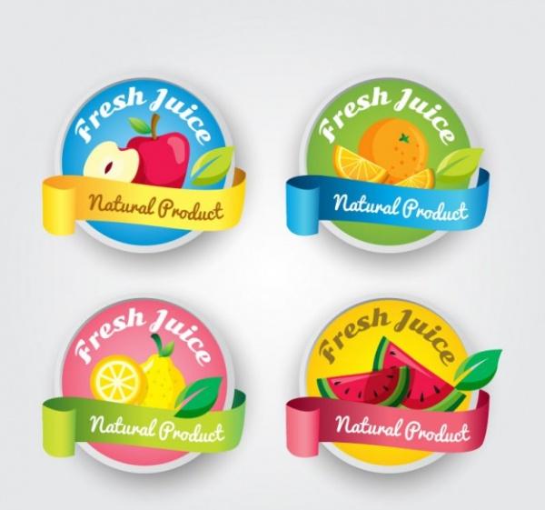 Juice Product Label