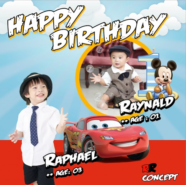 Kids Birthday Banner