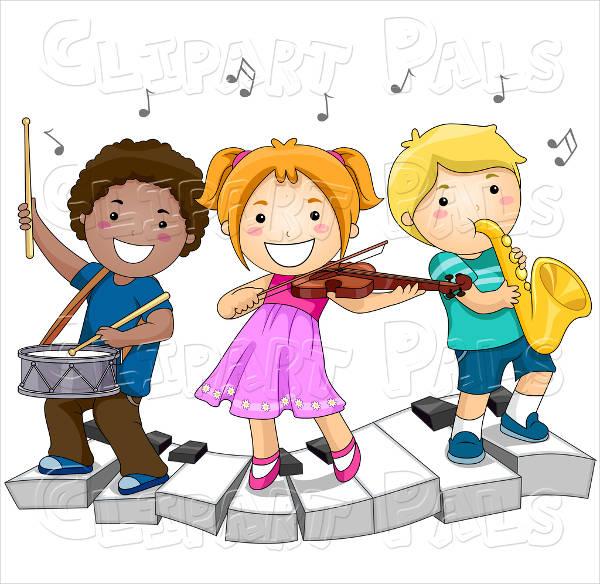 Kids Music Clipart