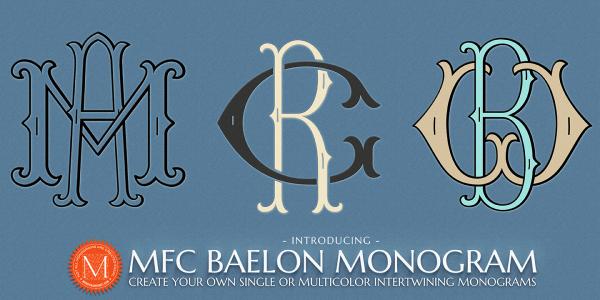 MFC Baleon Monogram Font