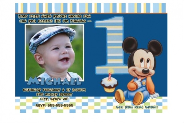 Baby mickey mouse birthday invitations etamemibawa baby mickey mouse birthday invitations filmwisefo Image collections