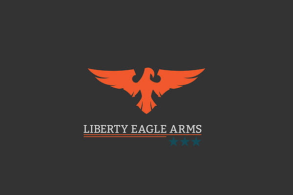 Military Eagle Art Logo