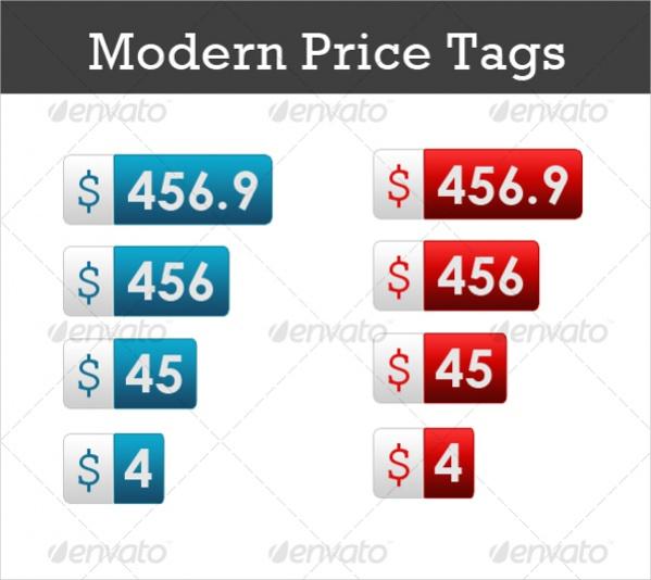 Modern Price Tags