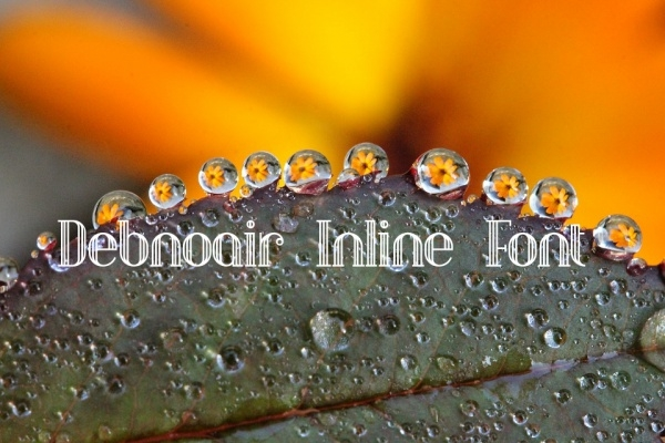 Monogram Debnoair Inline Font