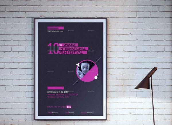 Multicolor Event Poster