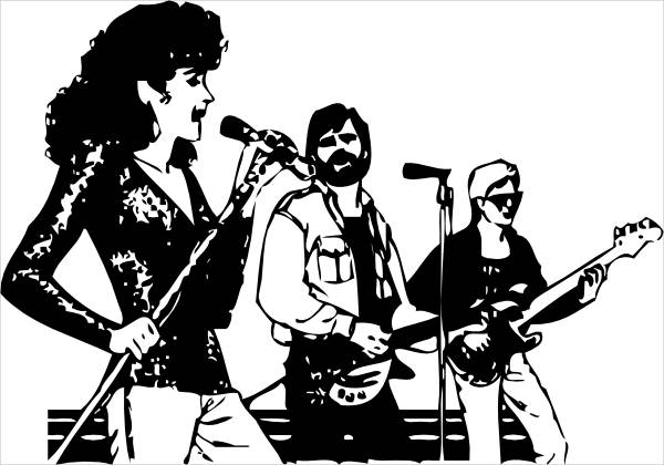 Music Band Clipart