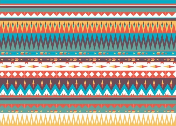 Native American Ethnic Pattern Vector