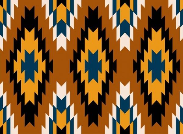 Navajo Aztec Tribal Patterns