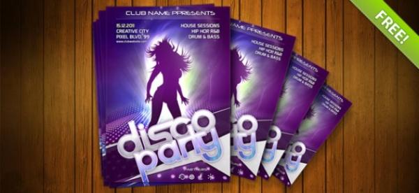 Night Club Party Flyer