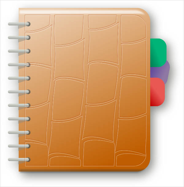 Note Book Clipart